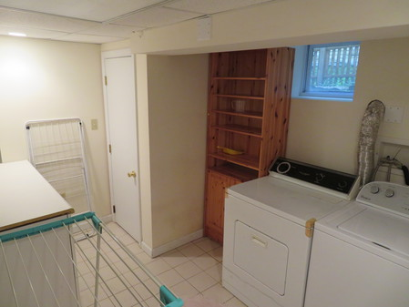 Laundry Room with Extra Storag