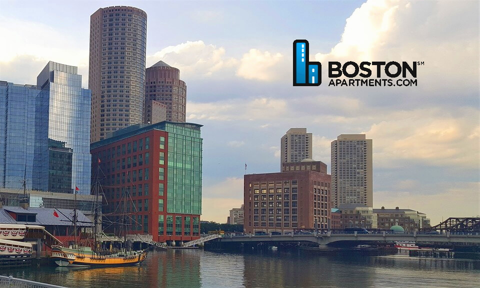 Fort Point Channel in Boston MA